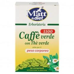 Integratore Caffè verde con tè verde