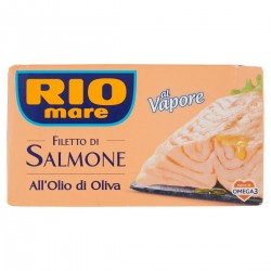 Filetto di salmone all'olio di oliva