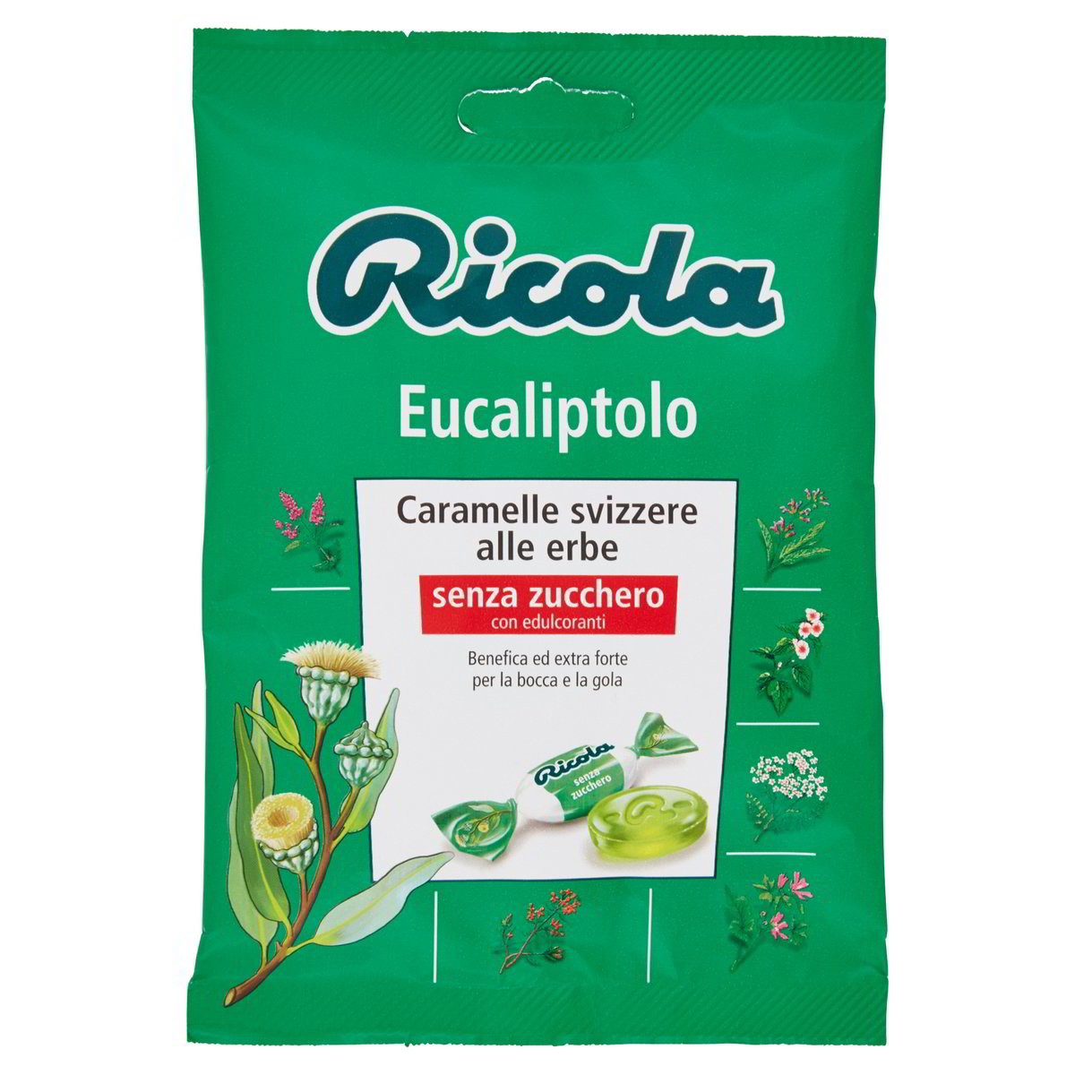 Caramelle Svizzere Eucaliptolo