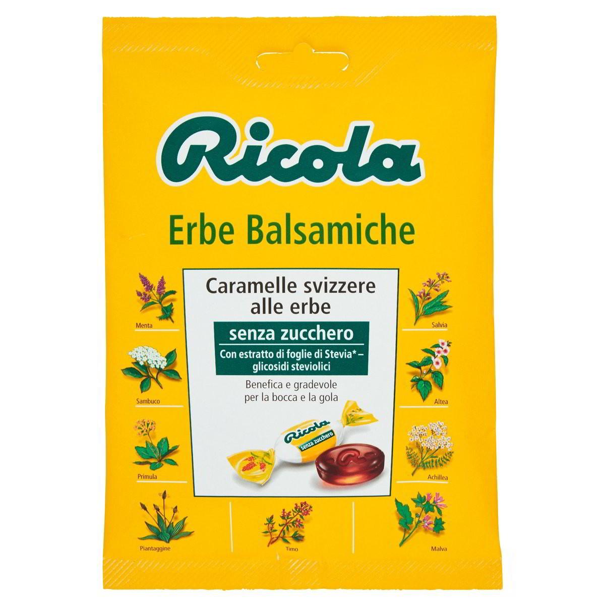 Caramelle Svizzere Erbe Balsamiche