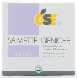 GSE INTIMO SALVIETTE IGIENICHE 50ml