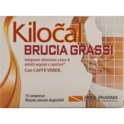 POOL PHARMA KILOCAL BRUCIA GRASSI INTEGRATORE ALIMENTARE 15 COMPRESSE 9,15g