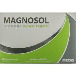 MEDA PHARMA MAGNOSOL INTEGRATORE DI MAGNESIO E POTASSIO 20 BUSTINE EFFERVESCENTI 102,4g