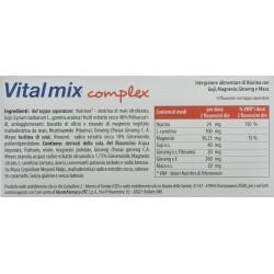 MONTEFARMACO OTC VITAL MIX COMPLEX INTEGRATORE ALIMENTARE DI NIACINA 12 FLACONCINI 120ml