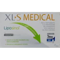 CHEFARO PHARMA XL-S MEDICAL LIPOSINOL TRATTAMENTO E PREVENZIONE SOVRAPPESO 180 COMPRESSE