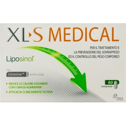 CHEFARO PHARMA XL-S MEDICAL LIPOSINOL TRATTAMENTO E PREVENZIONE SOVRAPPESO 60 COMPRESSE