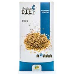 BALDAN GROUP LIFESTYLE DIET CENTRO MESSEGUE PREPARATI PROTEICI RISO 250g