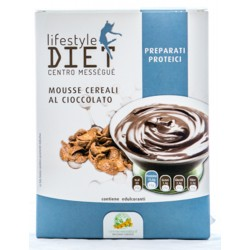 BALDAN GROUP LIFESTYLE DIET CENTRO MESSEGUE PREPARATI PROTEICI MOUSSE CEREALI AL CIOCCOLATO 75g