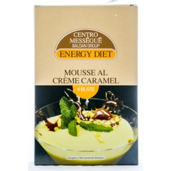 BALDAN GROUP CENTRO MESSEGUE ENERGY DIET MOUSSE AL CREME CARAMEL 100g