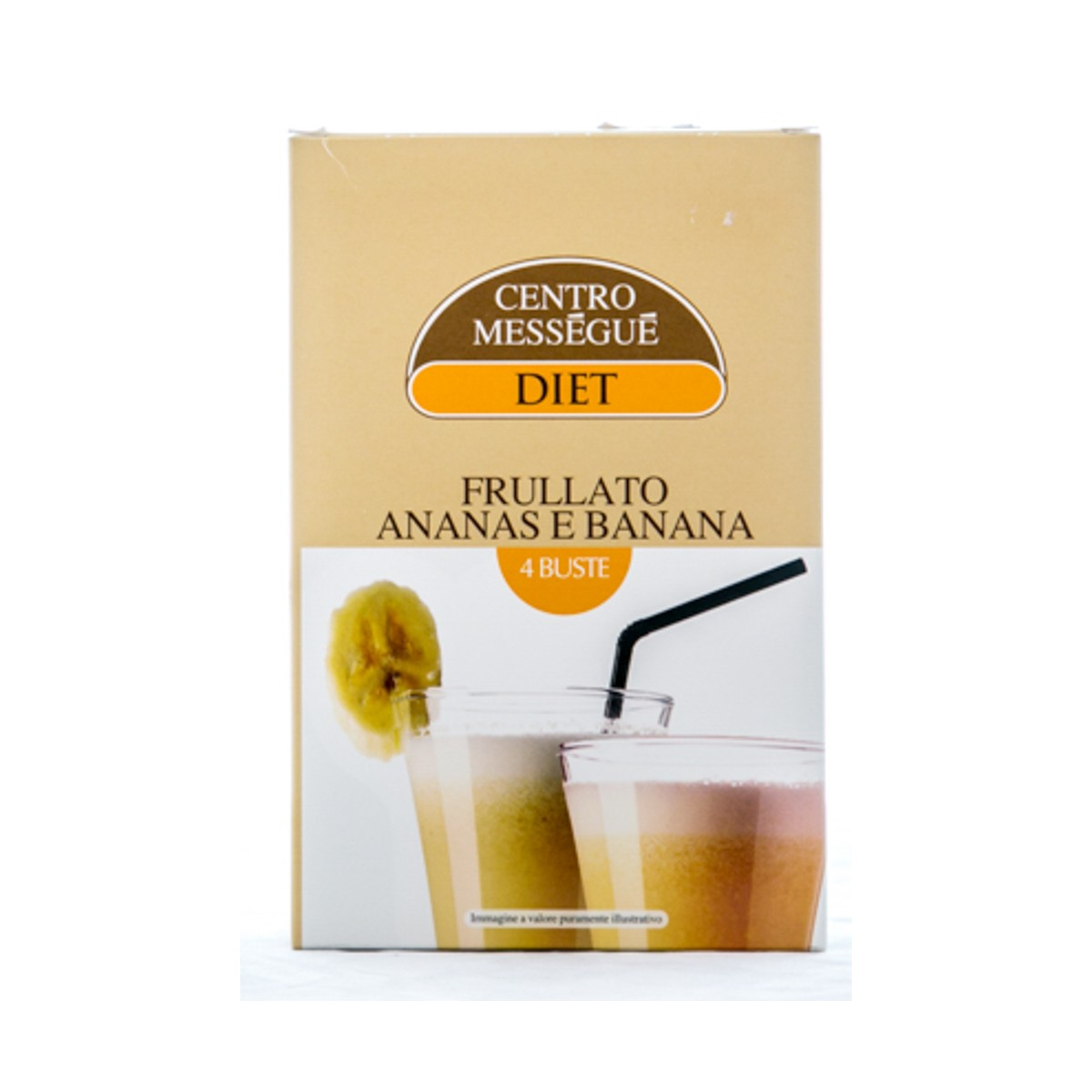 BALDAN GROUP CENTRO MESSEGUE DIET FRULLATO ANANAS E BANANA 100g