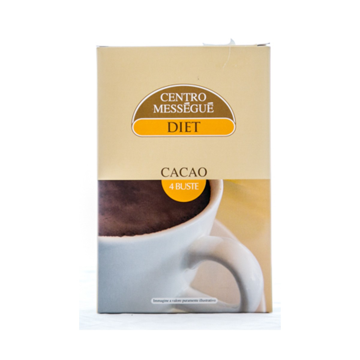 BALDAN GROUP CENTRO MESSEGUE DIET CACAO 100g