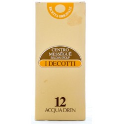 BALDAN GROUP CENTRO MESSEGUE I DECOTTI 12 ACQUA DREN INTEGRATORE ALIMENTARE 500ml