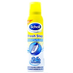 SCHOLL FRESH STEP DEODORANTE SPRAY SCARPE 150ml