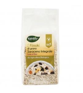 YUKY BIO Fiocchi di grano saraceno integrale bio