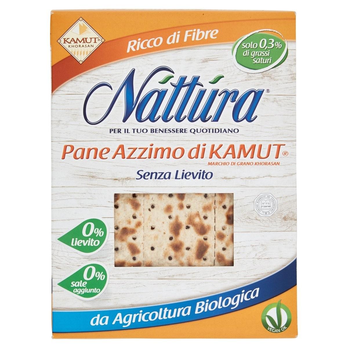 Pane Azzimo di grano Kamut biologico