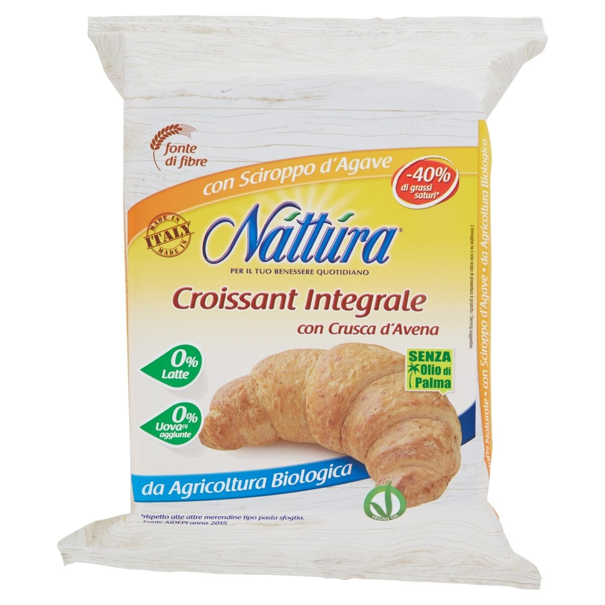 Croissant integrale bio