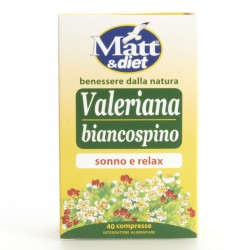 Integratore Valeriana biancospino