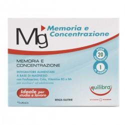 Integratore Mg Memoria Concentrazione