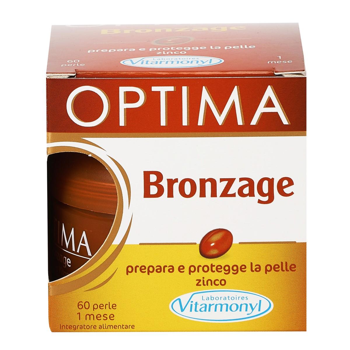 Integratore alimentare Bronzage Optima