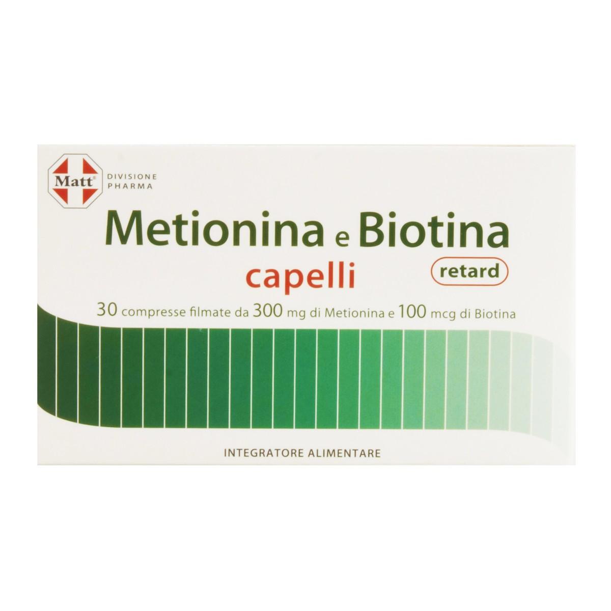 Integratore Metionina e Biotina