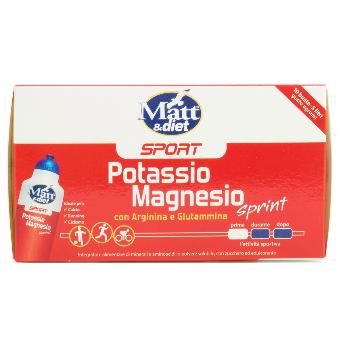 Integratore Potassio e Magnesio Sprint