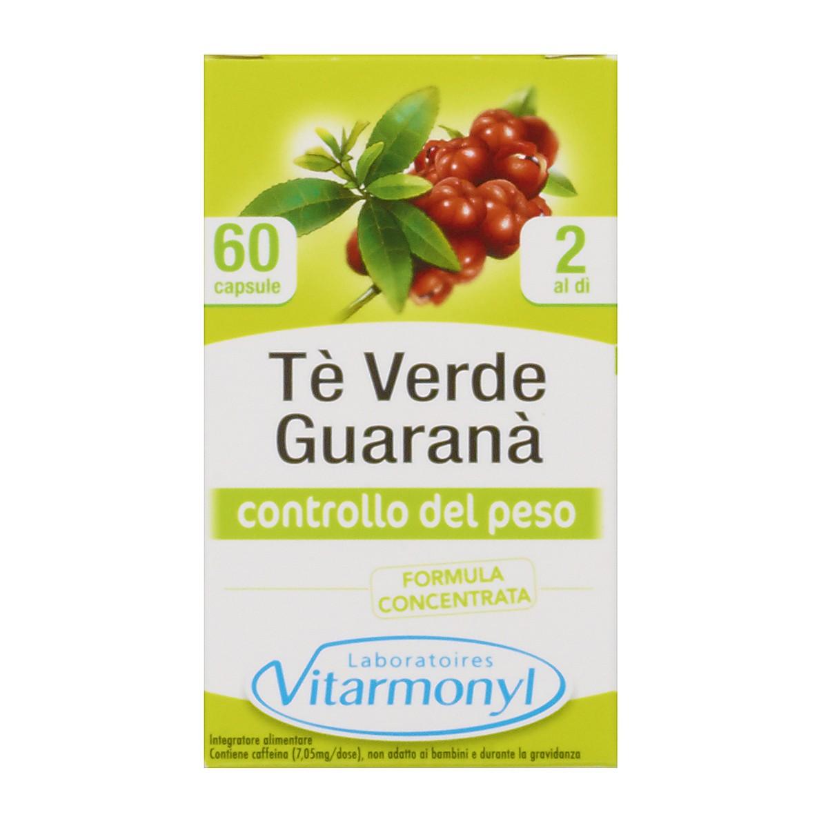 Integratore Tè Verde e Guaranà