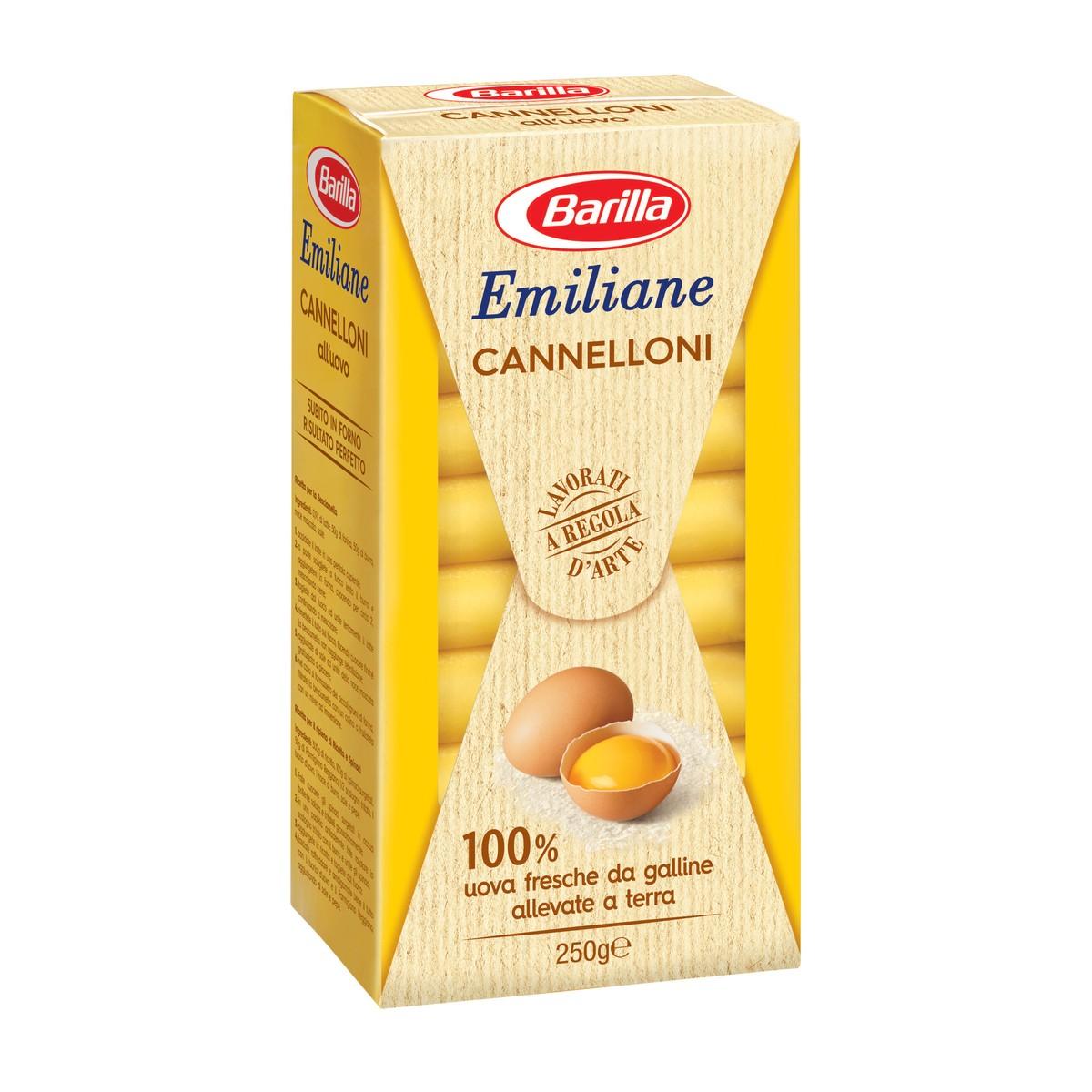 BARILLA Cannelloni all'uovo Emiliane