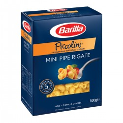 BARILLA Mini pipe rigate Piccolini