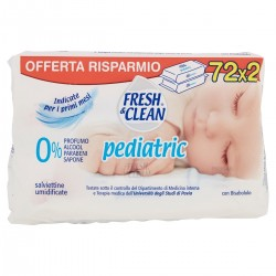 Fresh&Clean Salviettine umidificate Pediatric