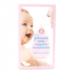 Johnson&Johnson Coppette assorbilatte Johnson's Baby