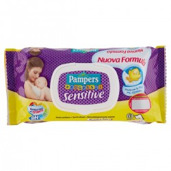Pampers Salviettine Sensitive Progressi