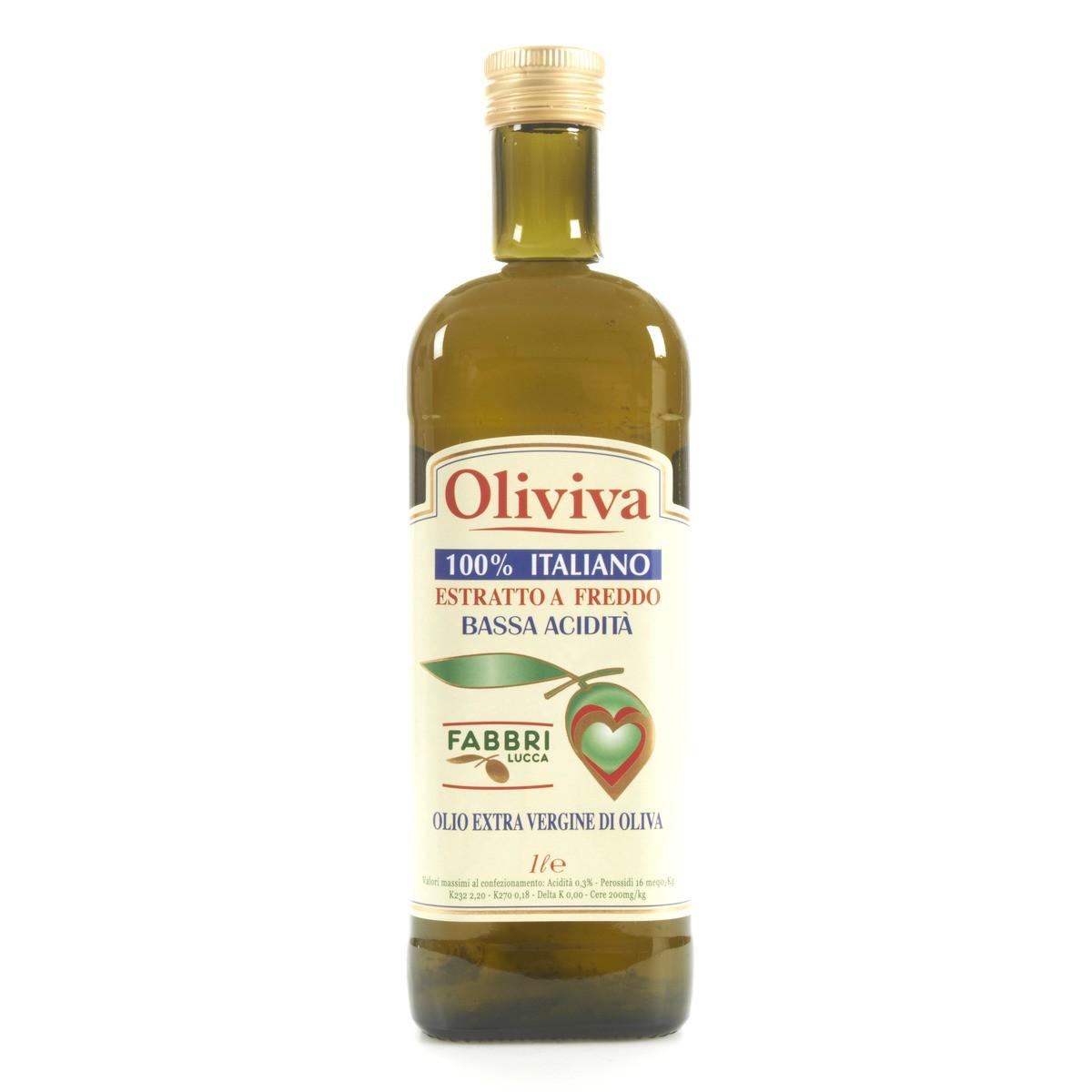 Oliviva Olio extravergine di oliva bassa acidità