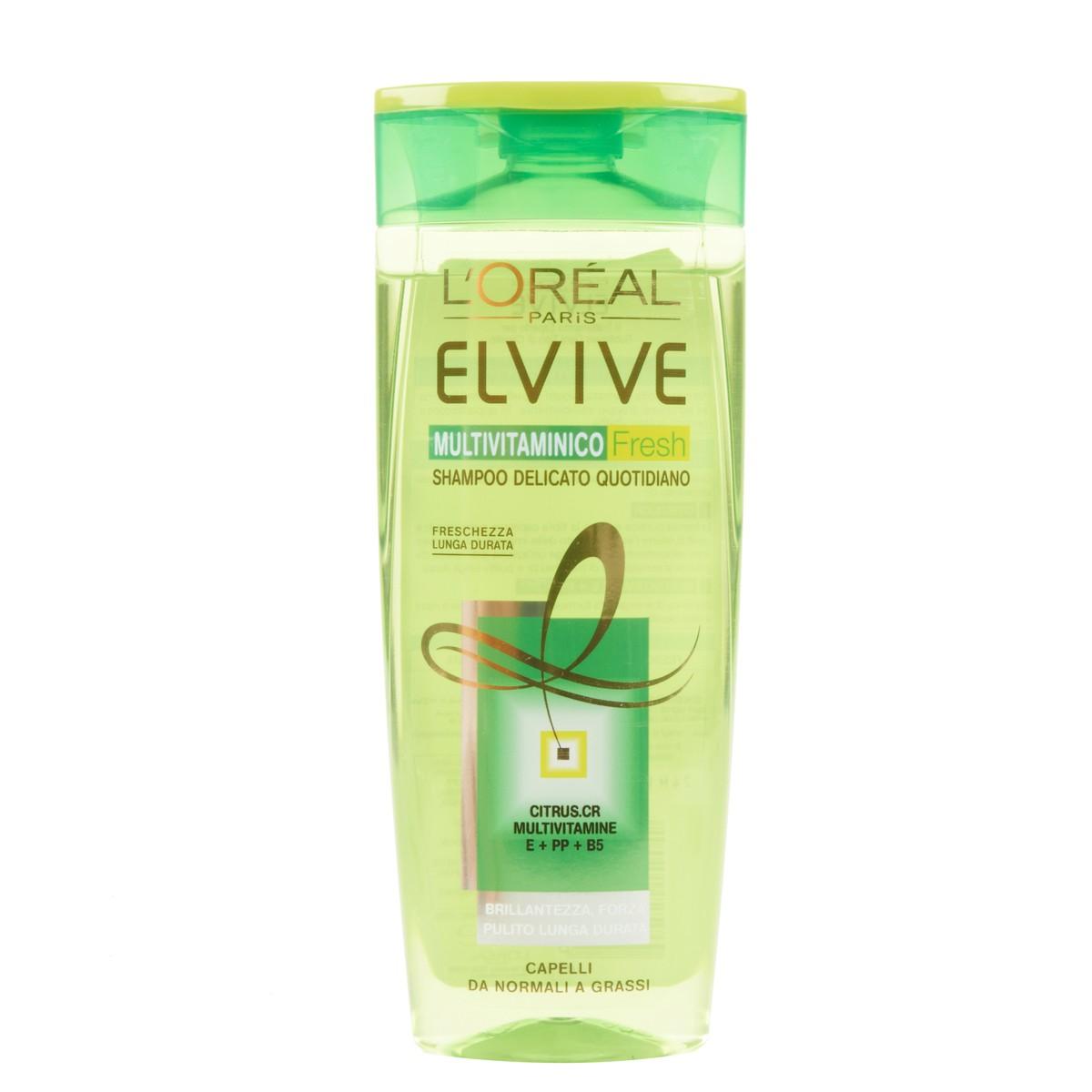 Elvive L'Oréal Paris? Shampoo delicato Multivitaminico Fresh