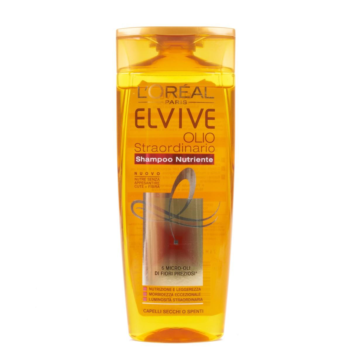 Elvive L'Oréal Paris? Shampoo nutriente Olio Straordinario