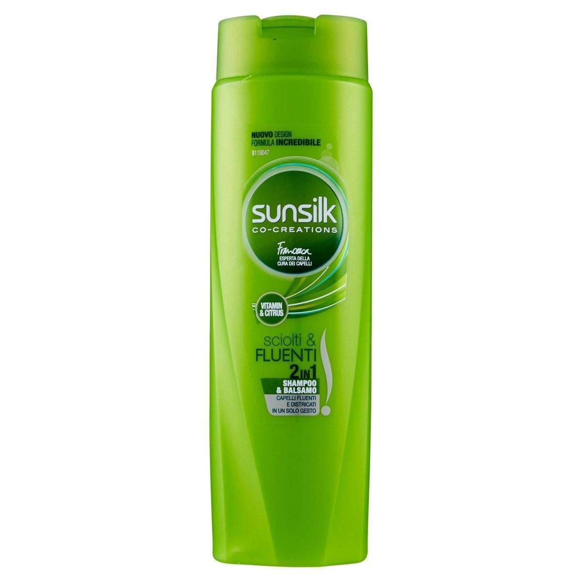 Sunsilk Shampoo & Balsamo 2in1 Sciolti e Fluenti