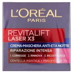 L'Oréal Paris Crema viso notte Revitalift Laser X3