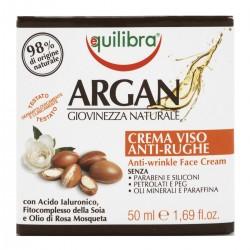 Equilibra Crema viso anti-rughe Argan