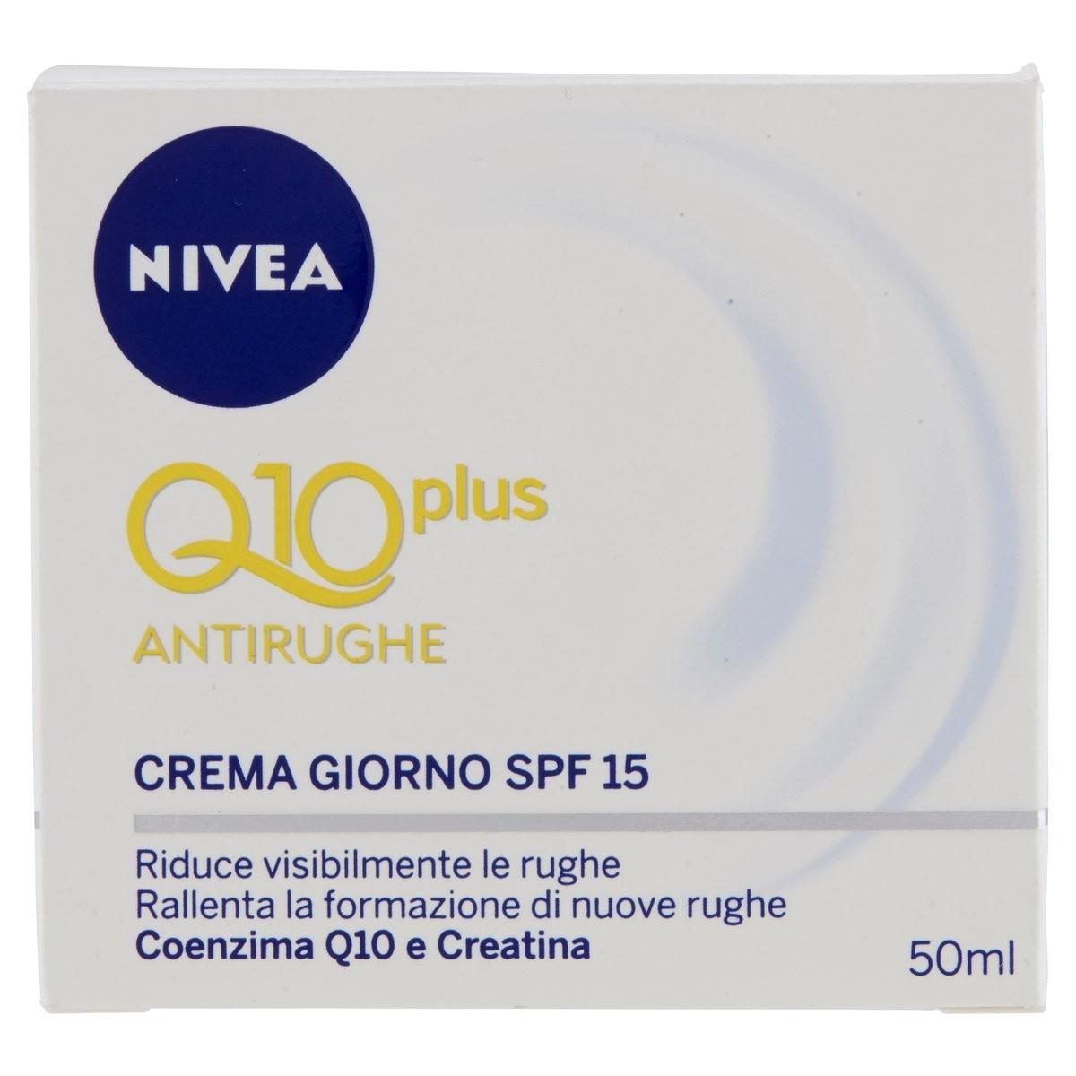 Nivea Q10 plus Crema giorno antirughe SPF 15
