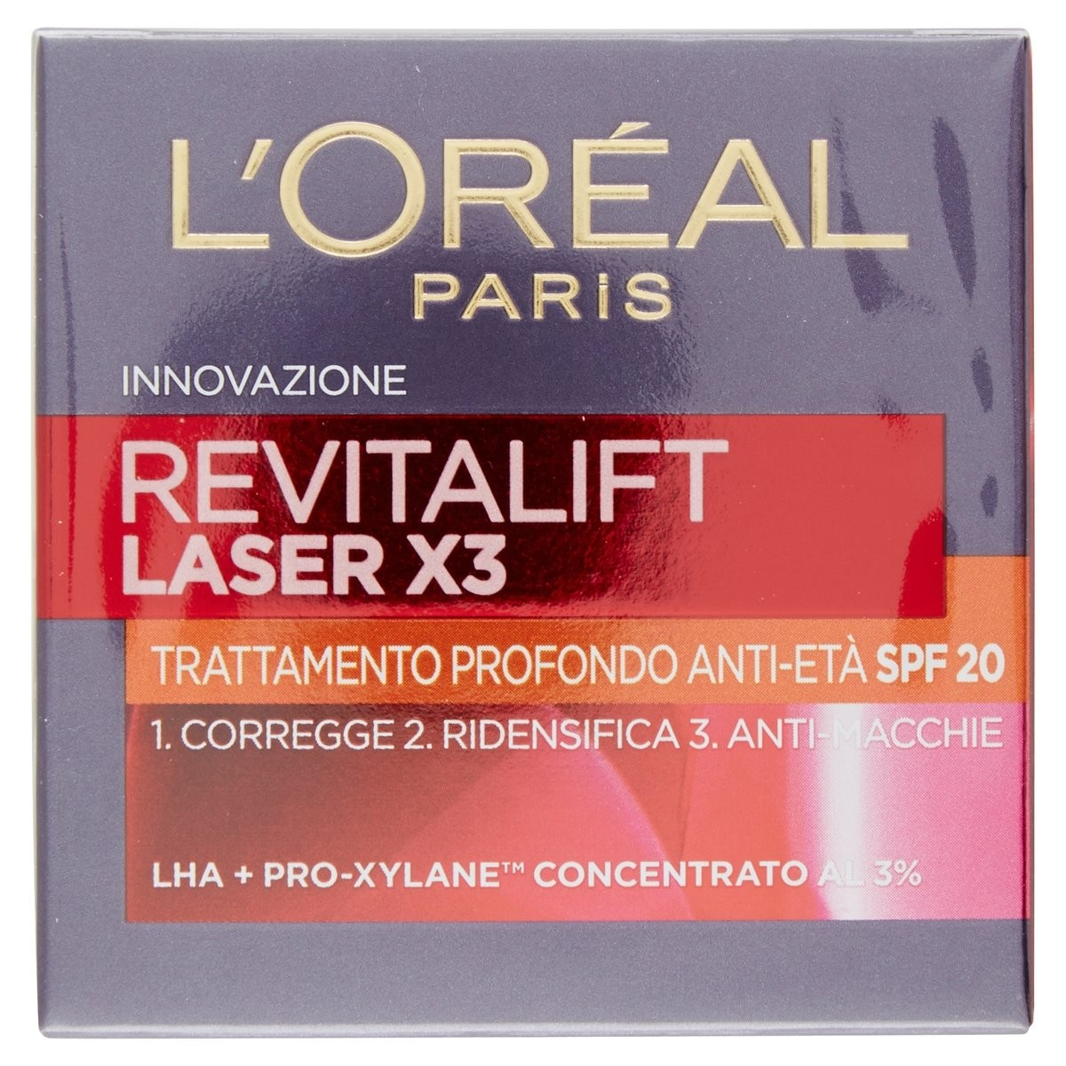 L'Oréal Paris Crema viso Revitalift Laser X3