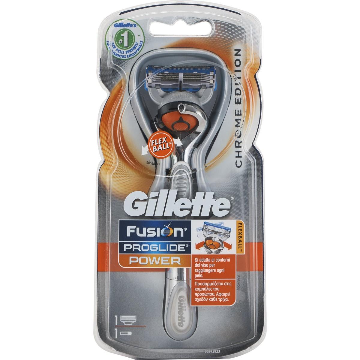 Gillette Rasoio Fusion Flexball