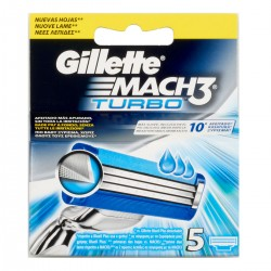 Gillette Lame per rasoio Mach3 Turbo
