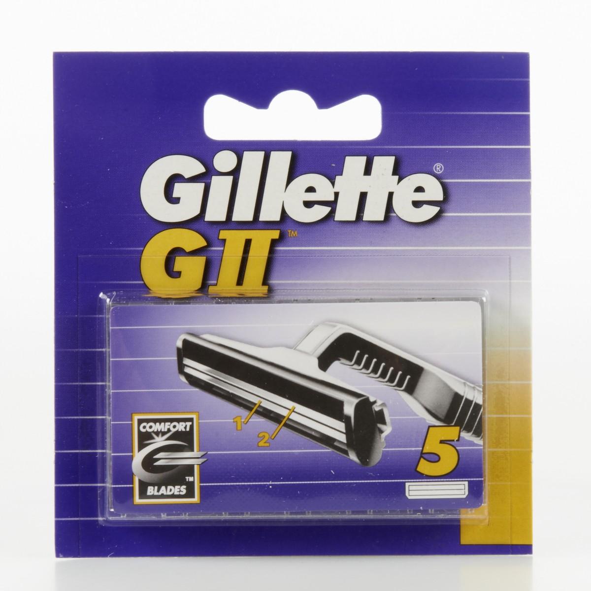 Gillette Ricambi per rasoio GII