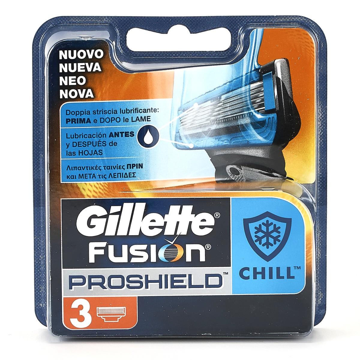 Gillette Lame per rasoio Fusion Proshield Chill