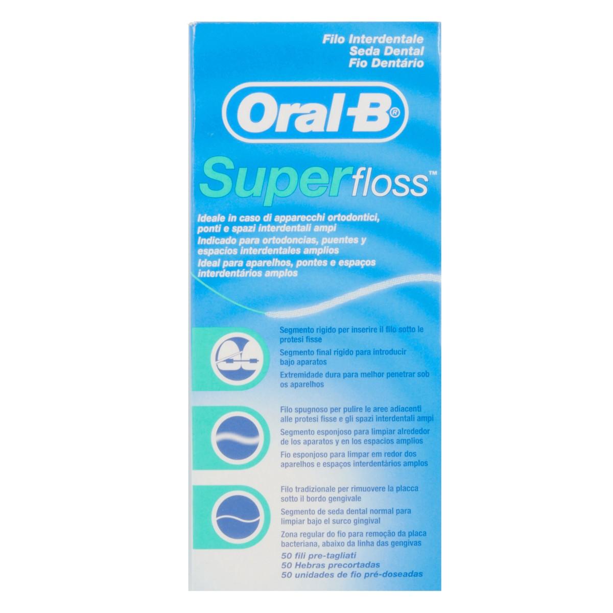 Oral-B Filo interdentale Super Floss