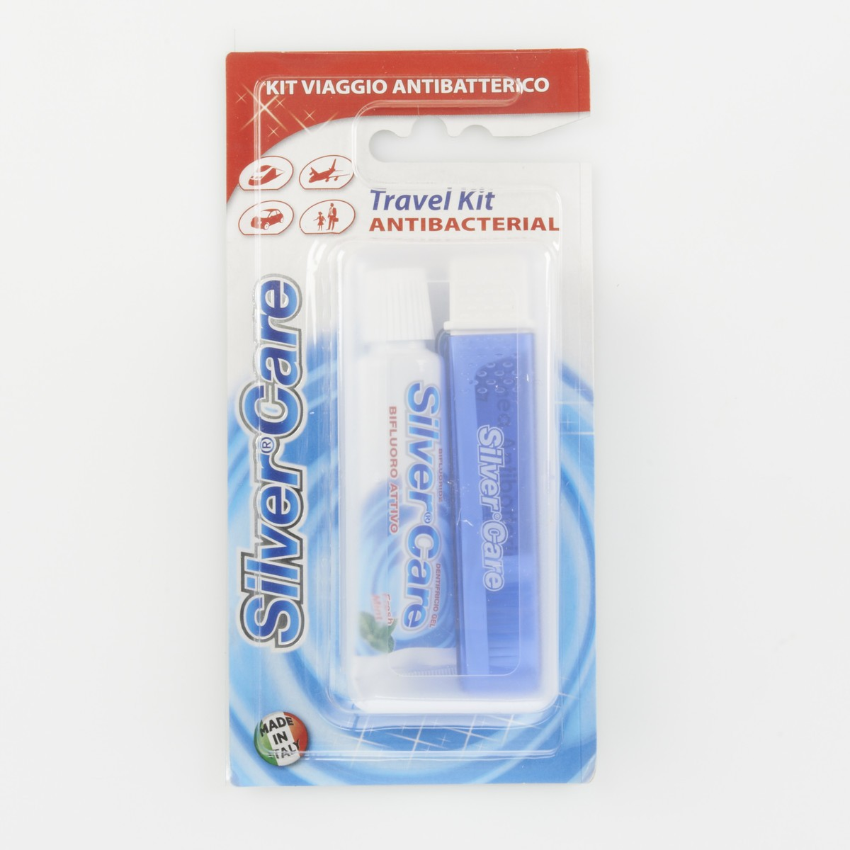 Silver Care Travel Kit Antibatterico