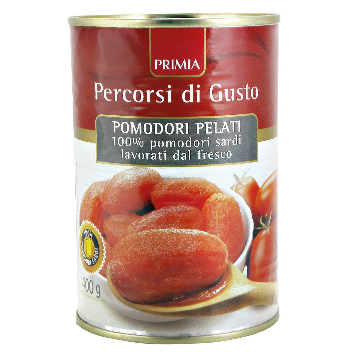 Primia Pomodori pelati Percorsi di Gusto