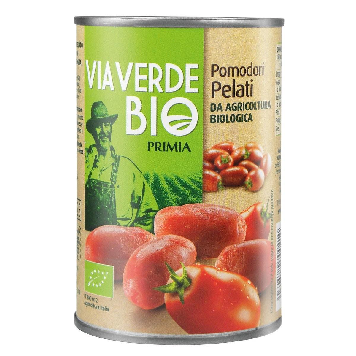 Primia Pomodori pelati Via Verde Bio