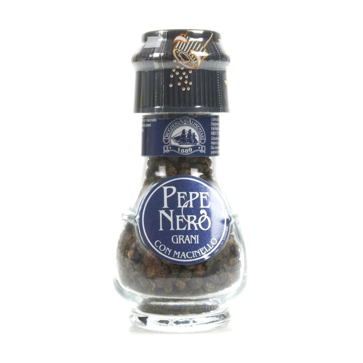 Drogheria&Alimentari Pepe nero in grani con macinello