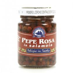 Delizie in tavola Pepe rosa in salamoia