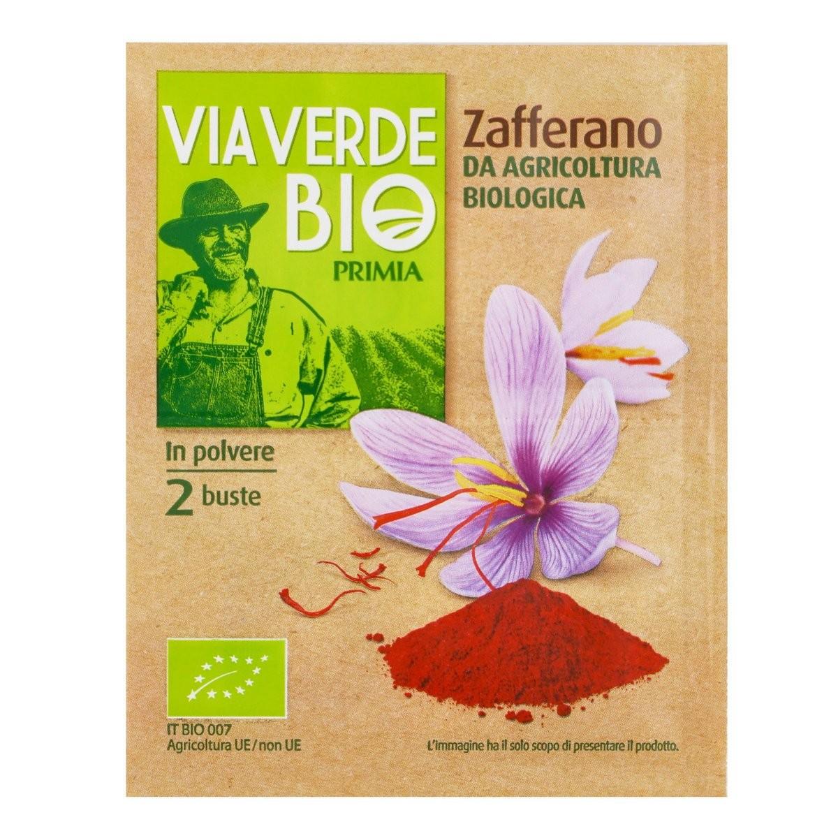 Primia Zafferano Via Verde Bio